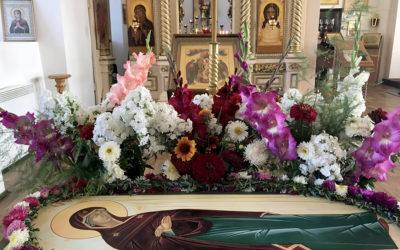 Престольный праздник встретили в Никольском храме