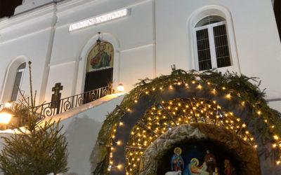 В Каменках встретили праздник Рождества Христова